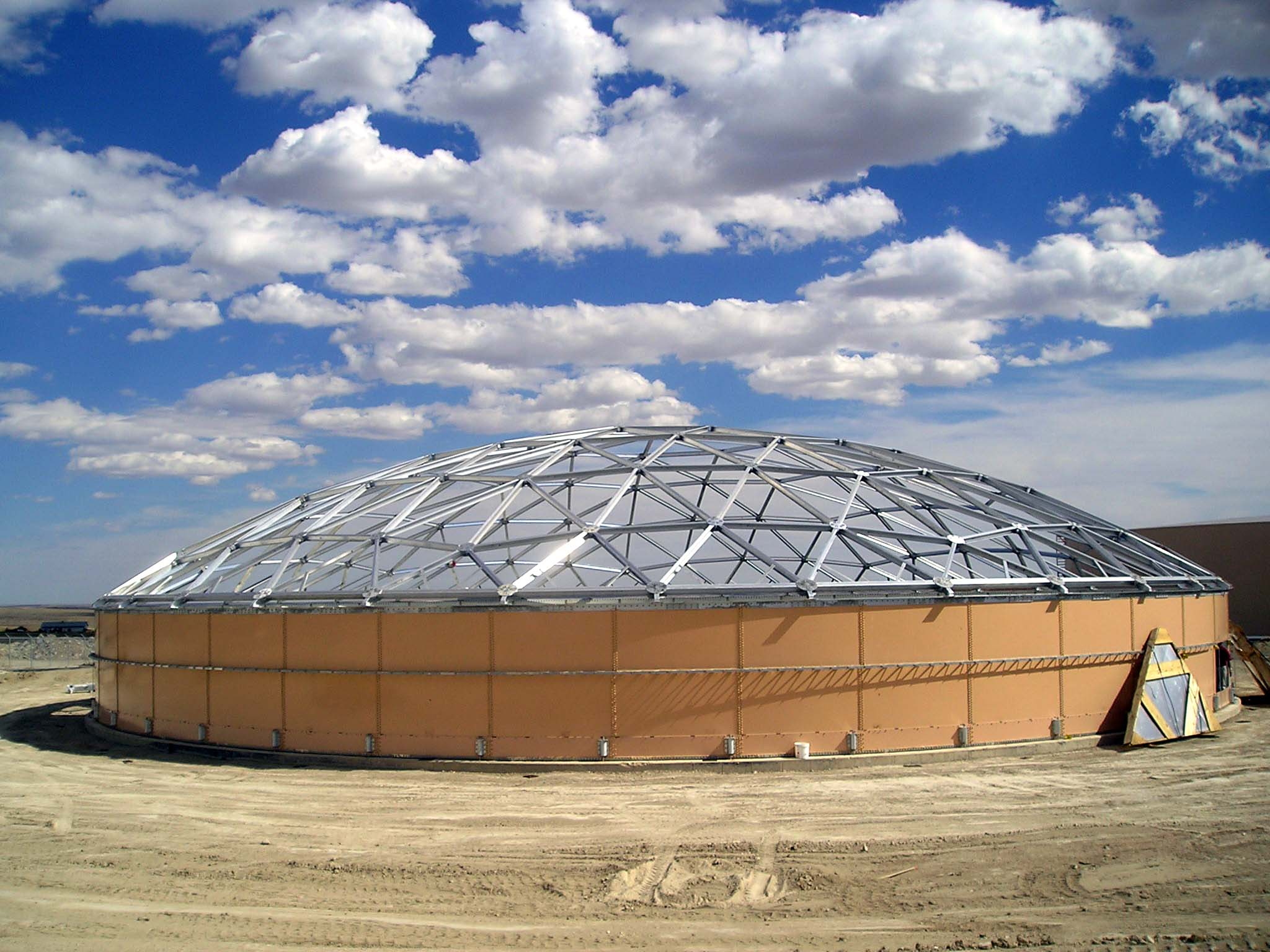 Roofs domes statewide aquastore