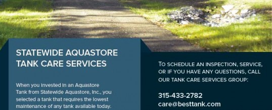 Statewide Tank Care Brochure